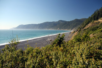 Photo: first sight of the Lost Coast