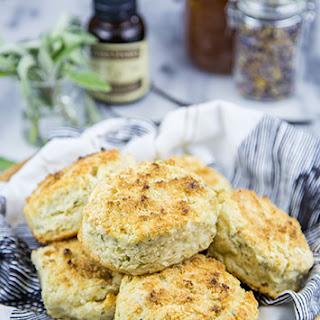 Double Vanilla Sage Biscuits