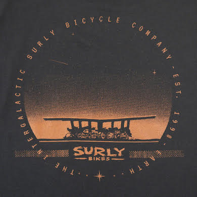 Surly Space Station Men's T-Shirt alternate image 0