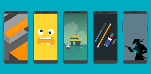 VectoRise Wallpapers app (apk) free download for Android/PC/Windows screenshot