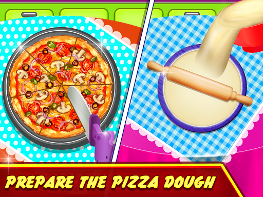 Pizza Maker Kitchen Cooking Mania android2mod screenshots 1