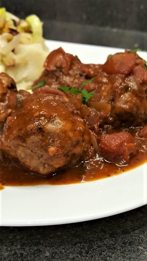 Belgian Meatballs In Tomato Sauce Recipe