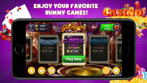 Gin Rummy Extra - GinRummy Plus Classic Card Games 1.1 screenshots 1