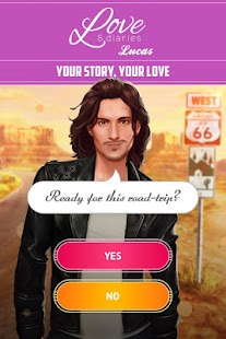 Love & Diaries: Lucas - A Trip to Discover Love Screenshot