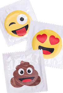 Kondom, Emoji