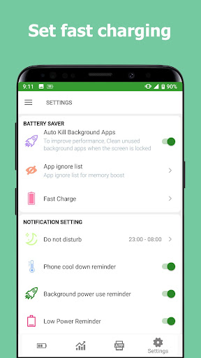 Battery Master Fast charging Saver Phone Cleaner screenshot 2