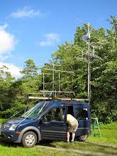 Photo: K8GP / Rover - FN00 (looking SE) - ARRL June VHF 2014