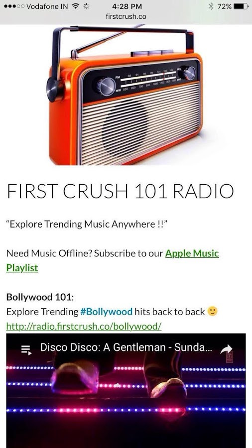 First Crush - Explore What's Trending- screenshot