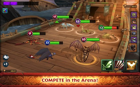 Dragons: Rise of Berk (MOD, Many Runes) 3