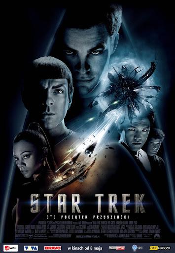 Polski plakat filmu 'Star Trek'
