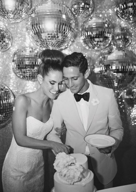 Get groocy with a 1970s disco-themed wedding - Throwback wedding theme that invoke fun and nostalgia - Wedding Soiree Blog by K'Mich, Philadelphia's premier resource for wedding planning and inspiration