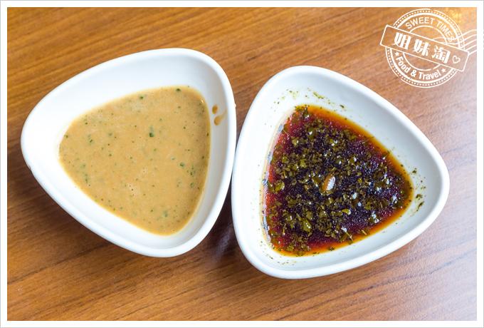上竹林食草館養生汆燙鍋-沾醬