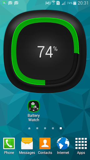 Battery Watch Widget