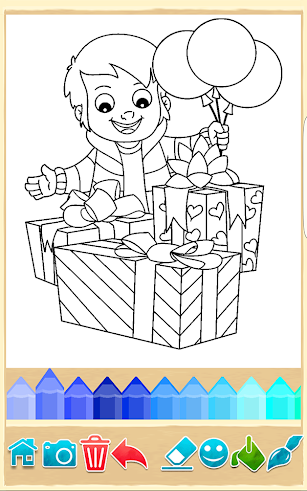 Party Coloring screenshot for Android