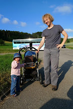 Photo: Simon Dettwiler mit seiner Tochter Salome
