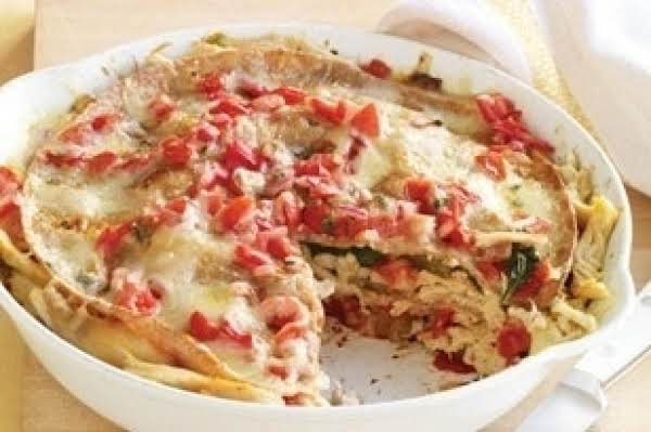 Chicken Tortilla Pie Recipe
