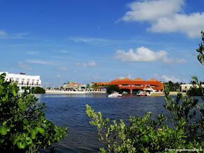 Photo: #014-La lagune du Club Med Cancún Yucatán.