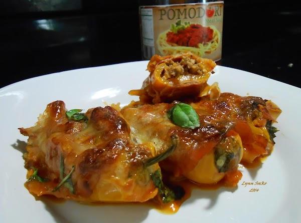 Prosciutto Wrapped Mini Sweet Peppers Recipe