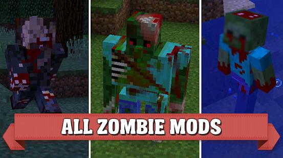 Zombie mods for Minecraft PE - náhled