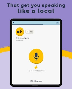 Learn Languages with Memrise - Spanish, French... Screenshot