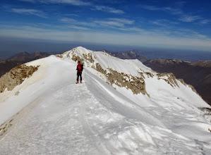 Photo: Sulla cresta uno sguardo verso la Valle Santa Reatina