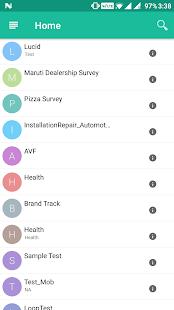 RebusCloud for Offline Surveys - náhled