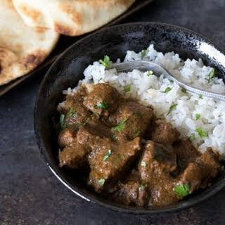 Pressure Cooker Beef Curry.