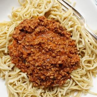 Bolognese Sauce for Spaghetti or Lasagne