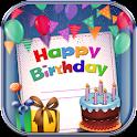 Cartes Joyeux anniversaire icon