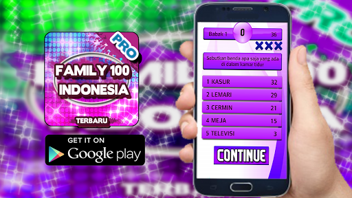 Family 100 Indonesia - Terbaru 1.0.0 screenshots 1