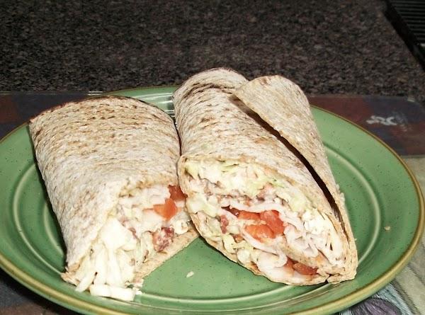 Cindy's Turkey Bacon Feta Wraps Recipe