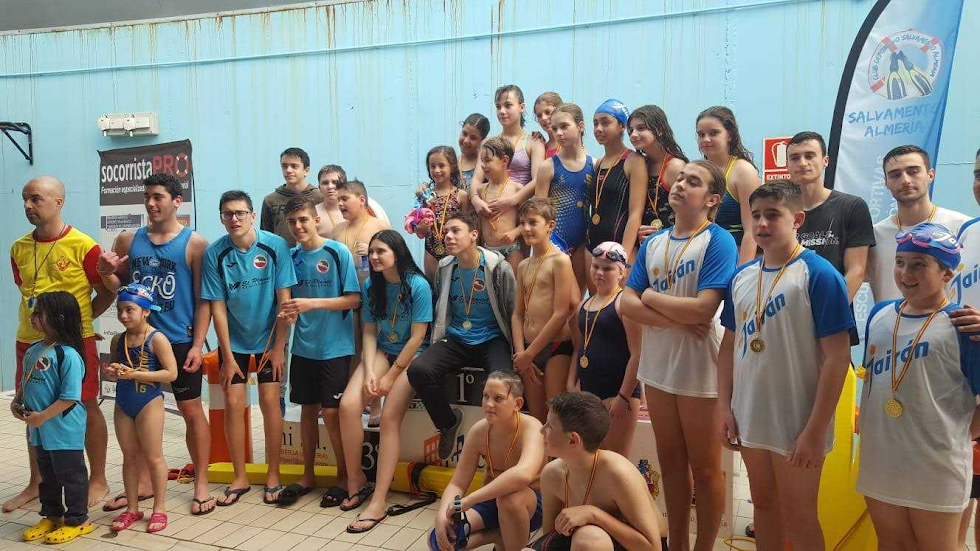 Los participantes en la jornada de Berja.