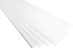 Vaquform Forming Sheets HIPS - White - 20 pack - 1.00mm