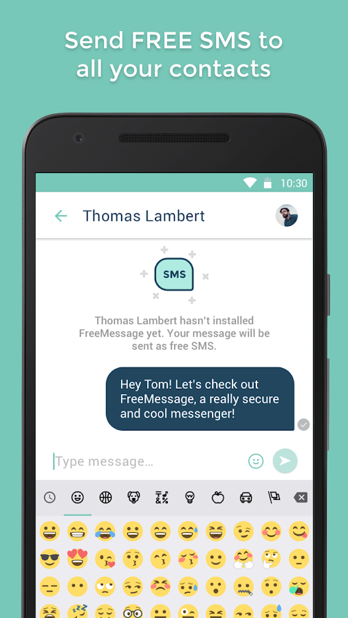 FreeMessage - free Messenger- screenshot