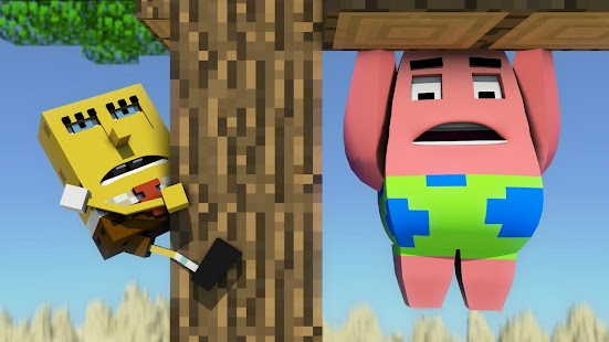 Addon for MCPE 0.16+ SpongeBob- screenshot thumbnail