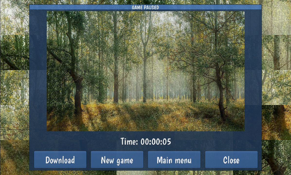 Tile Puzzles · Forests- screenshot