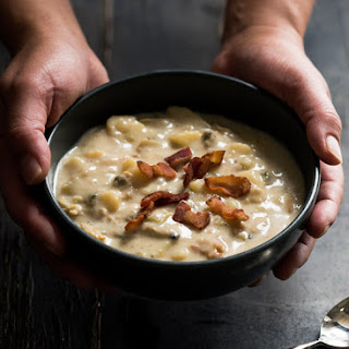 30 minute New England Clam Chowder