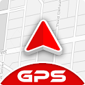 GPS Voice Navigation Maps, Driving Directions icon
