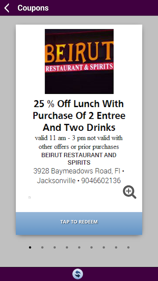 Beirut Restaurant & Spirits- screenshot