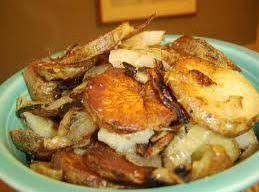 Mom's Fried Potatoes and Onions