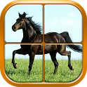 Horse Puzzle Games for Girls icon