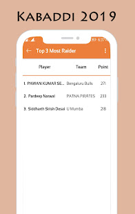 App Kabaddi Schedule 2019 APK for Windows Phone