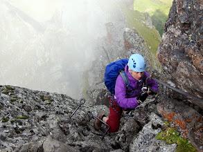 Photo: Des descentes délicates à la pluie...