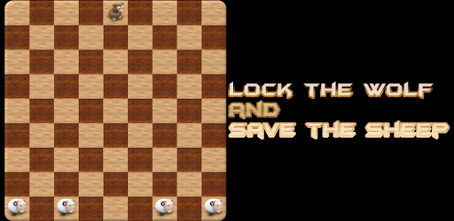 This is a board logical game for two players