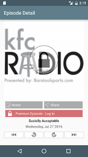 KFC Radio- screenshot thumbnail