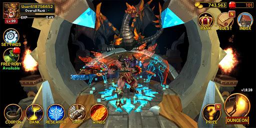 Death Dungeon : Demon Hunting RPG 1.8.51 screenshots 3