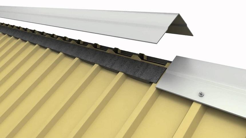 Tônúp nóc sẽ được thiết kế riêng theo diện tích mái của từng công trình