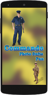 Commando Photo Suits Fun - náhled