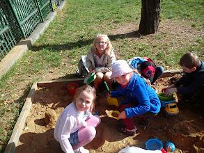 Photo: Koláčiky, bábovečky.... Nuž čo, že iba z piesku?