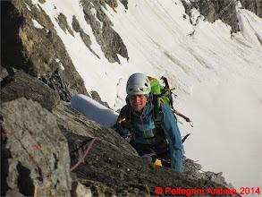 Photo: IMG_8919 Lorenzo sulla roccia della Suldengrat
